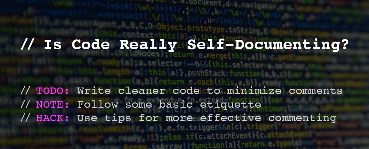 Is Code Really Self-Documenting?