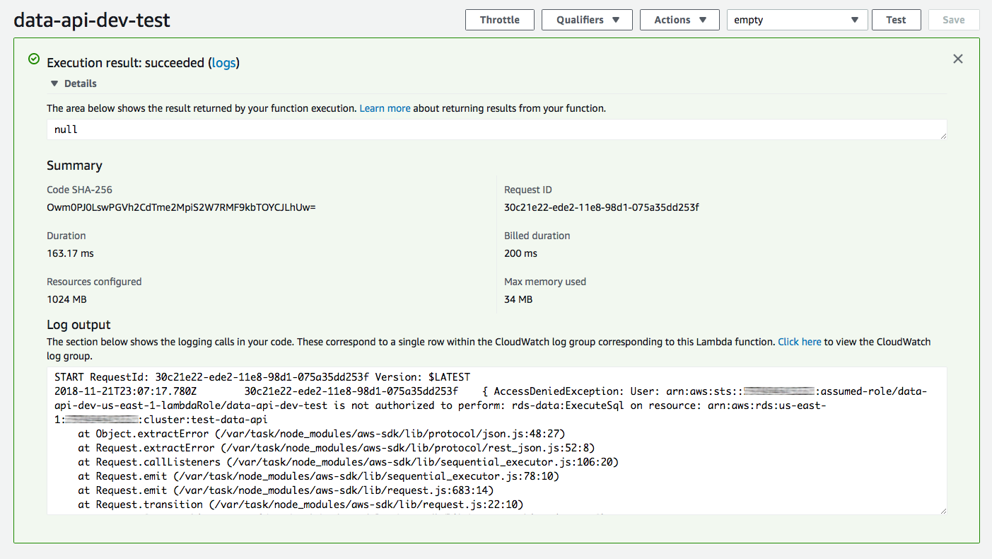 Aurora Serverless Data API: An (updated) First Look - Jeremy Daly