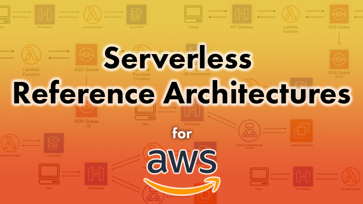 Announcing the Serverless Reference Architectures Project